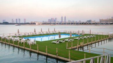 Photo of افتتاح أول حوض سباحة عائم في دبي