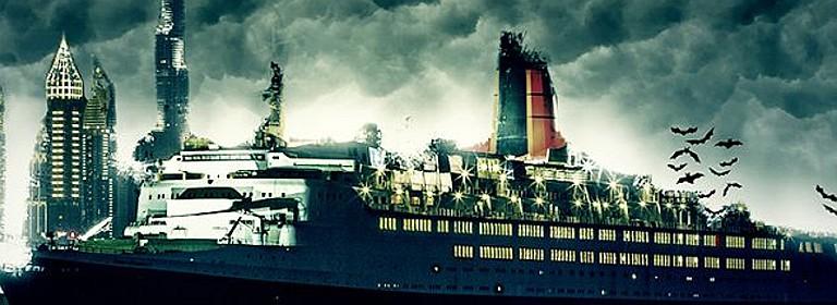سفينة الملكة إليزابيث Hollywood Horror Show at QE2 Dubai