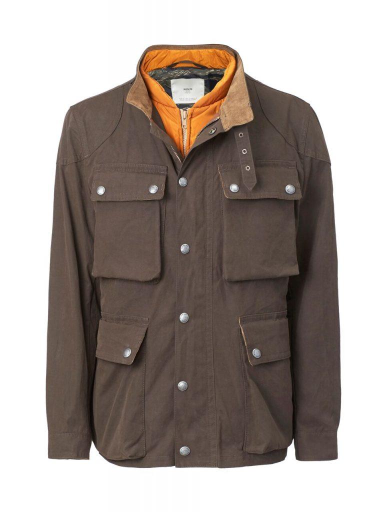 قطع غير رسمية من مجموعة MANGO للملابس الرجالية