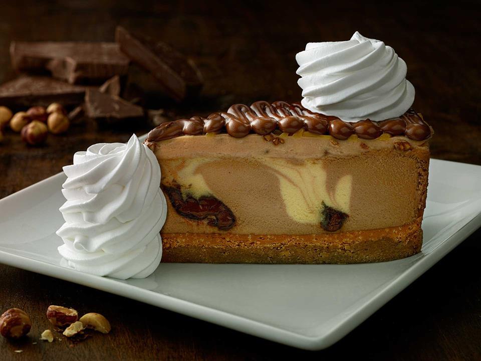 تشيز كيك شوكولاته النوتيلا في ذا تشيز كيك فاكتوري The Cheesecake Factory