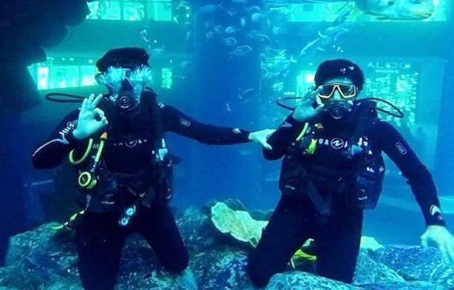 تعلم كيفية الغوص Learn how to scuba dive