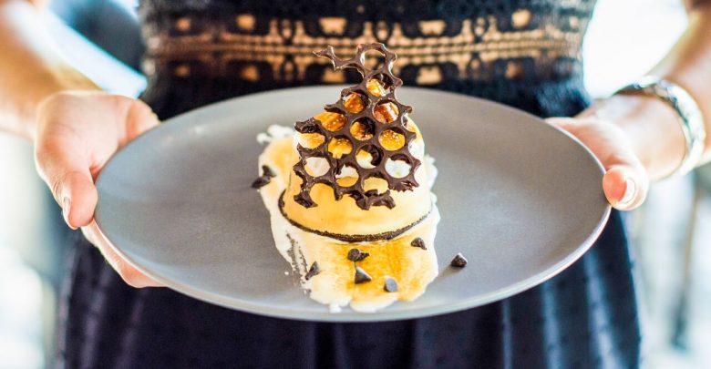 طبق الحلوى S Mores من مطعم غرايز