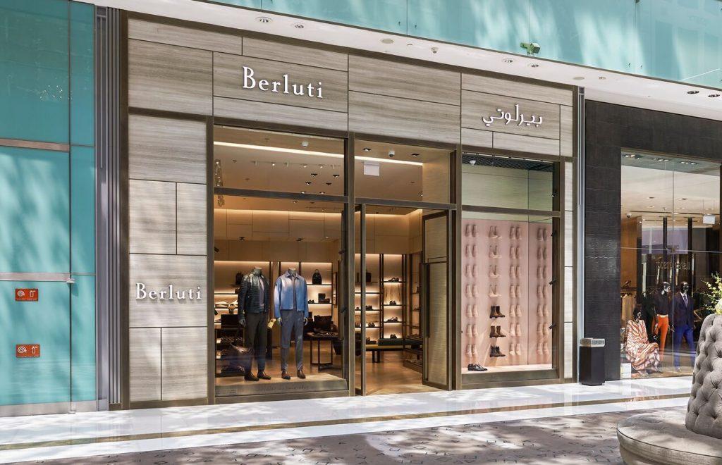 افتتاح متجر بيرلوتي في دبي مول