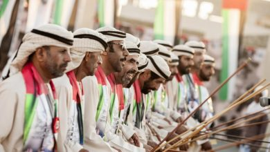 Photo of عروض الموسيقى الشعبية في دبي احتفالاً بعيد الإتحاد الـ47