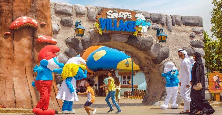 قرية السنافر في موشنجيت دبي