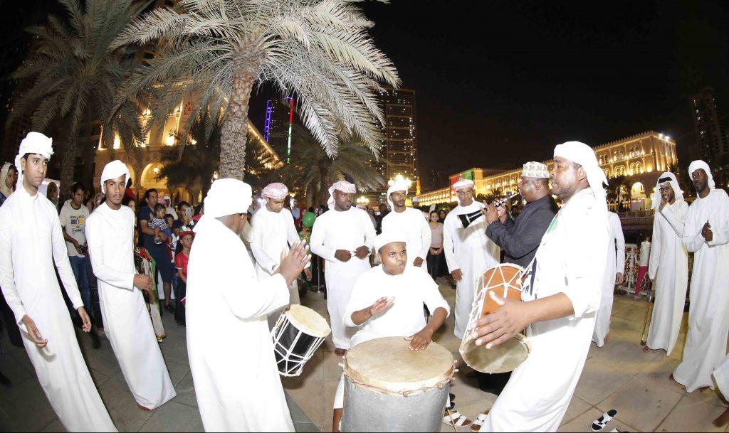احتفالات القصباء باليوم الوطني الـ47 للإمارات