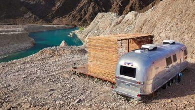 صورة افتتاح أول فندق على طراز مقطورة في الإمارات