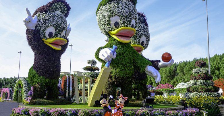 افتتاح طريق ديزني الجديد في دبي ميراكل جاردن
