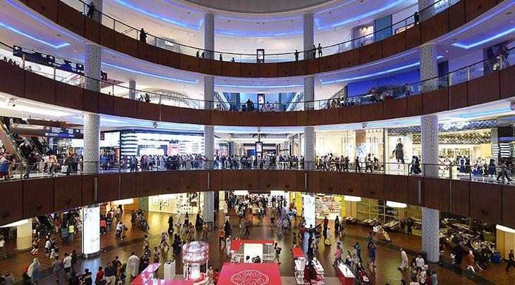 5 أكبر مراكز التسوق في الشرق الأوسط