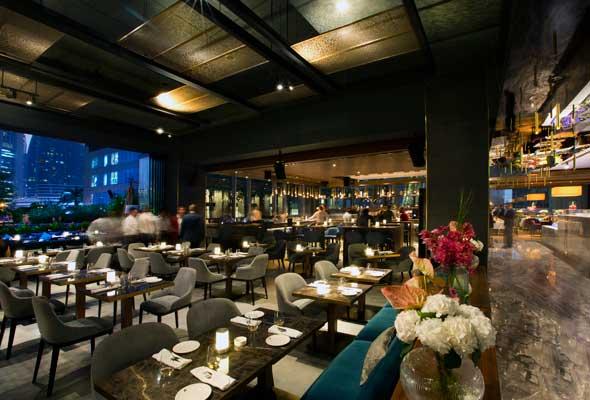 مطعم روبيرتوس Roberto's Dubai