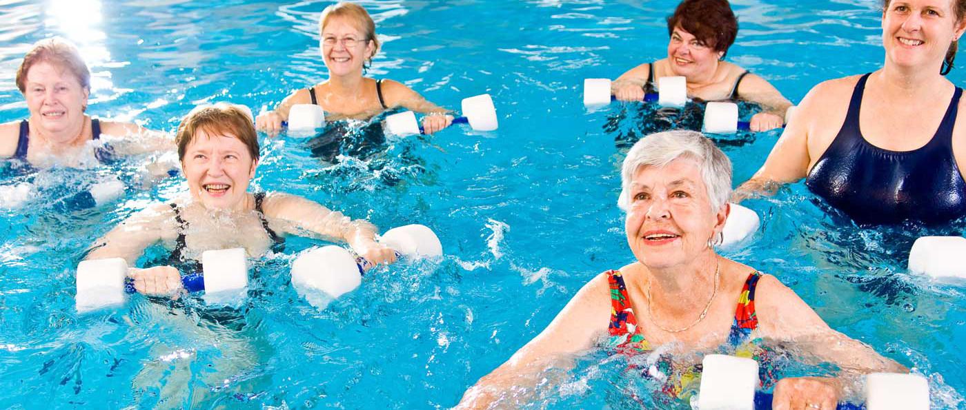 التمارين الرياضية المائيةWater Aerobics