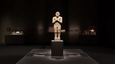 صورة معرض طرق التجارة في الجزيرة العربية في متحف اللوفر أبوظبي