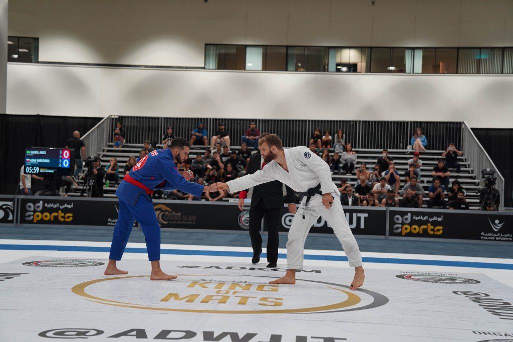 الجولة الثالثة من بطولة أبوظبي العالمية لمحترفي الجوجيتسو