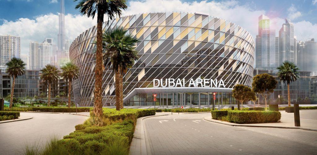 افتتاح دبي أرينا في عام 2019