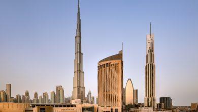 صورة عرض فندق العنوان دبي مول الاحتفالي باليوم الوطني الإماراتي