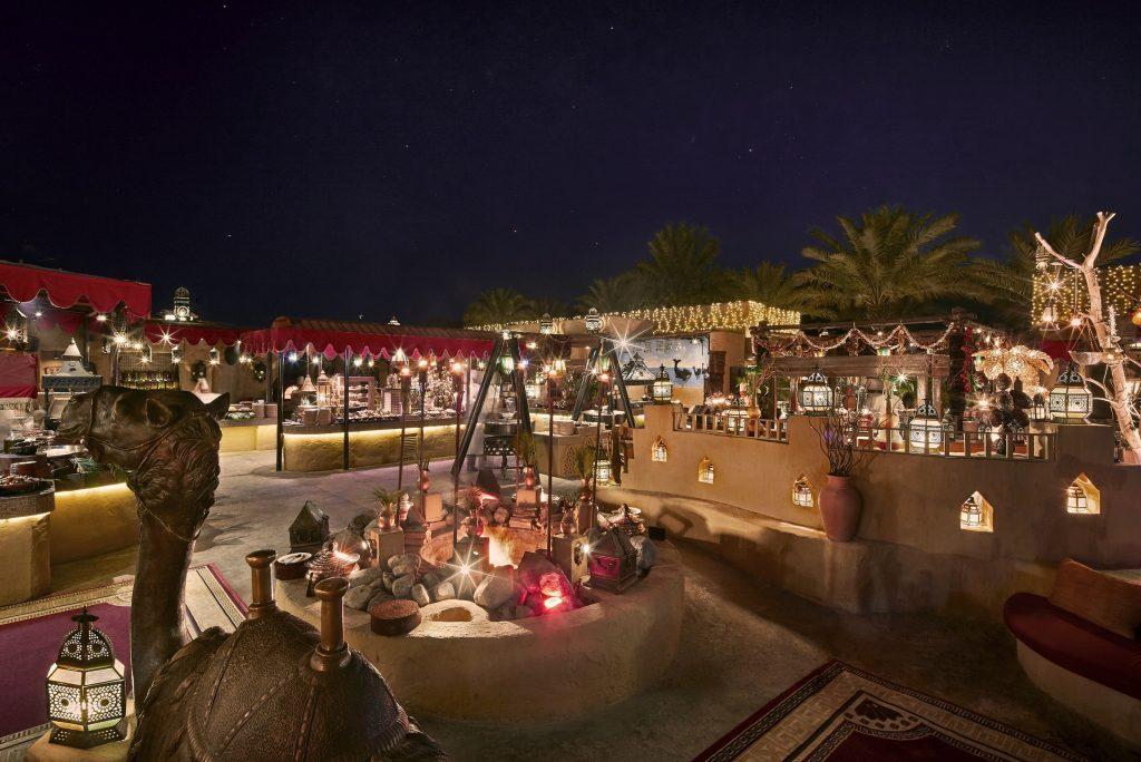 مطعم الحظيرة الصحراوي