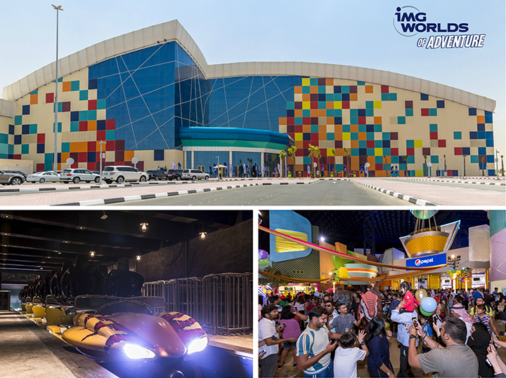 إحتفل باليوم الوطني الإماراتي في آي أم جي عالم من المغامرات