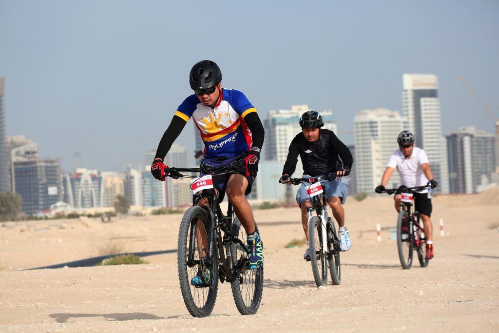 النسخة 12 من سباق نبض دبي للدراجات الهوائية