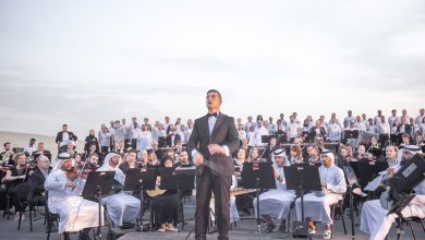 Photo of بالفيديو النشيد الوطني عيشي بلادي بأداء أوركسترالي