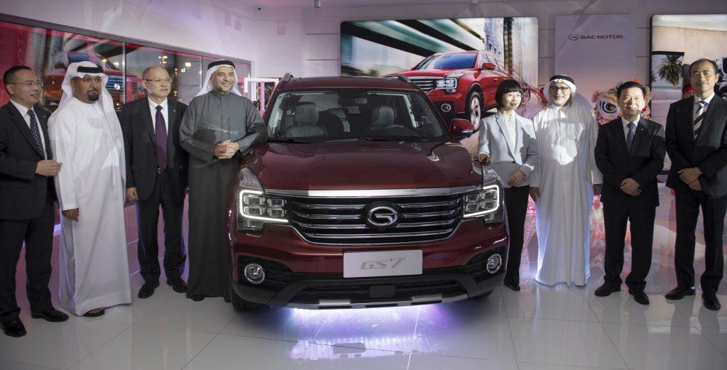افتتاح صالة عرض سيارات جي إيه سي موتور الجديدة في دبي