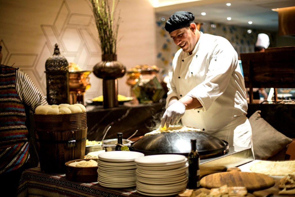 مهرجان الطبخ الخليجي من مطعم أوليا