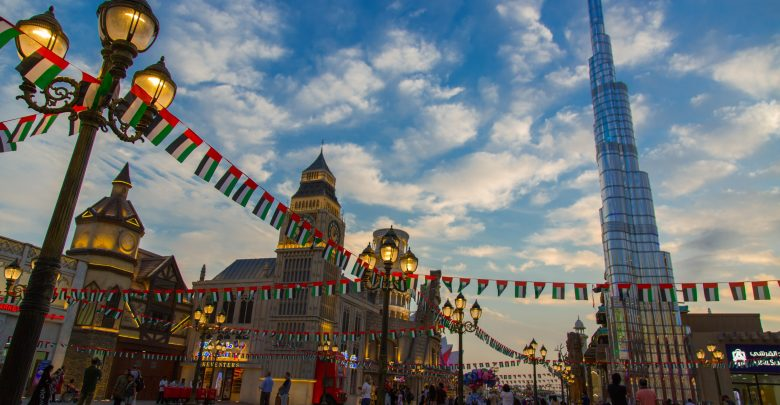 احتفالات القرية العالمية باليوم الوطني الـ47 للإمارات