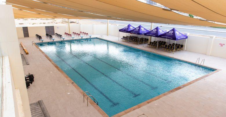 افتتاح المسبح الجديد في مدرسة فومارك