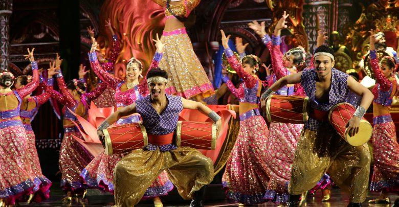 احتفالات بوليوود باركس دبي خلال مهرجان ديوالي