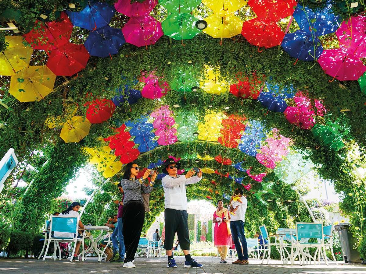 إفتتاح حديقة دبي المعجزة، لموسمها السابع وذلك بعد أن تم إعادة تصميمها