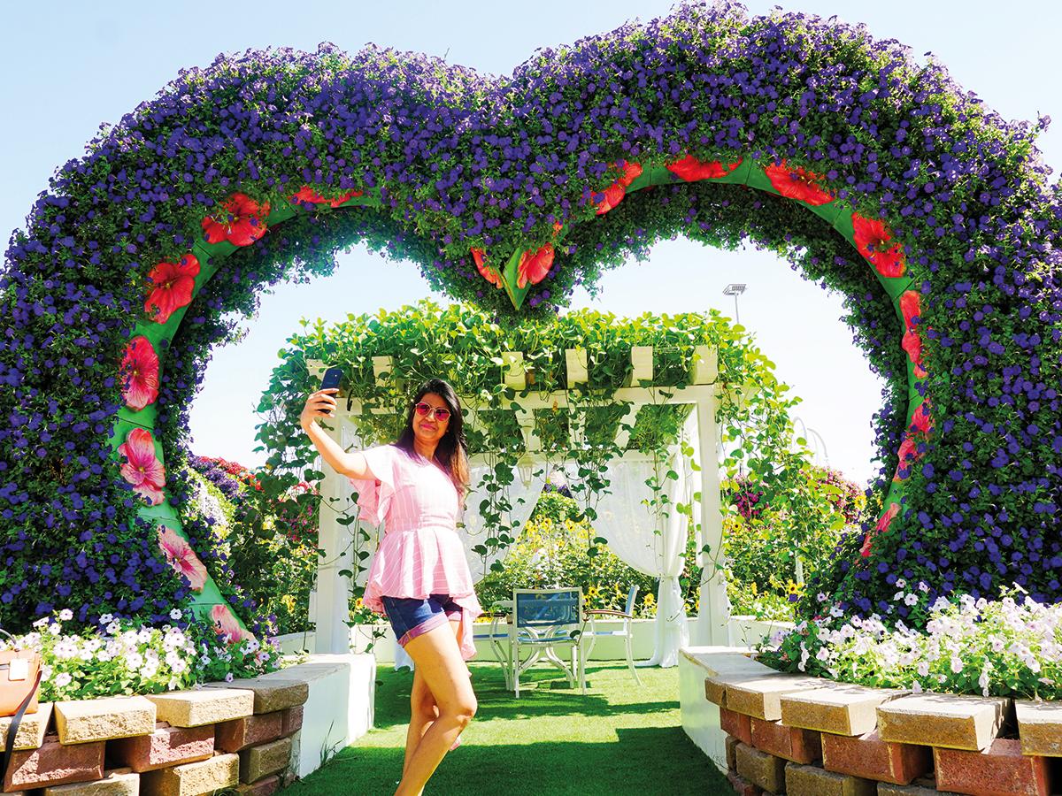 حديقة دبي المعجزة خلال موسمها السابع