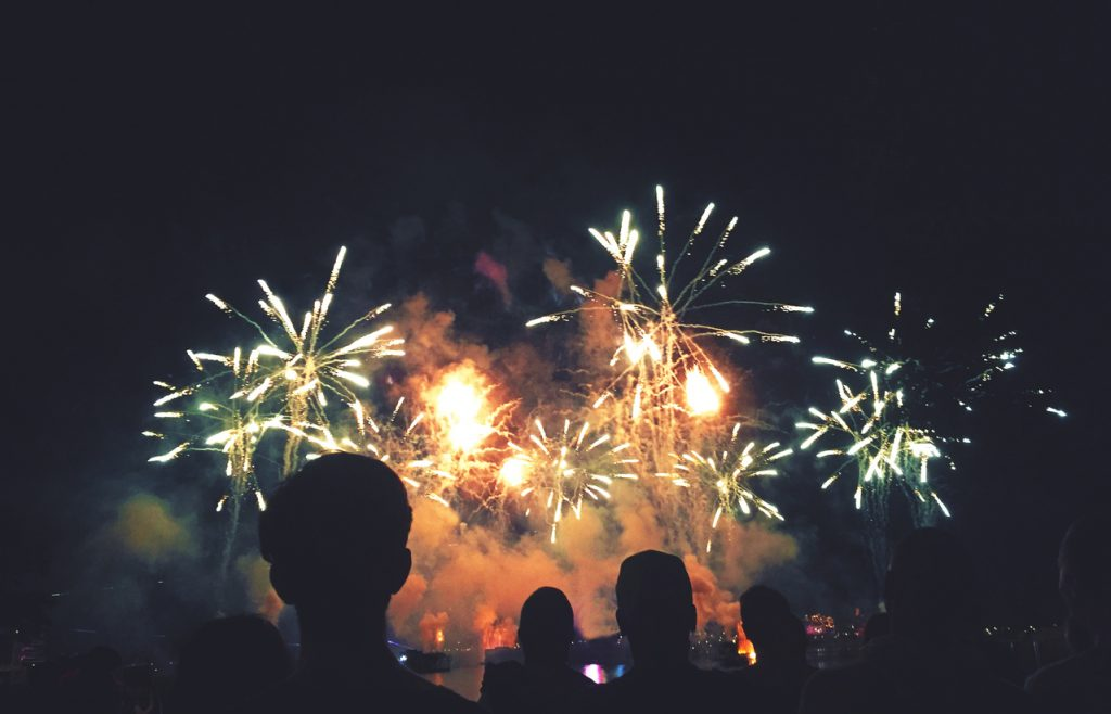 احتفالات رأس السنة من فندق العنوان مونتجمري