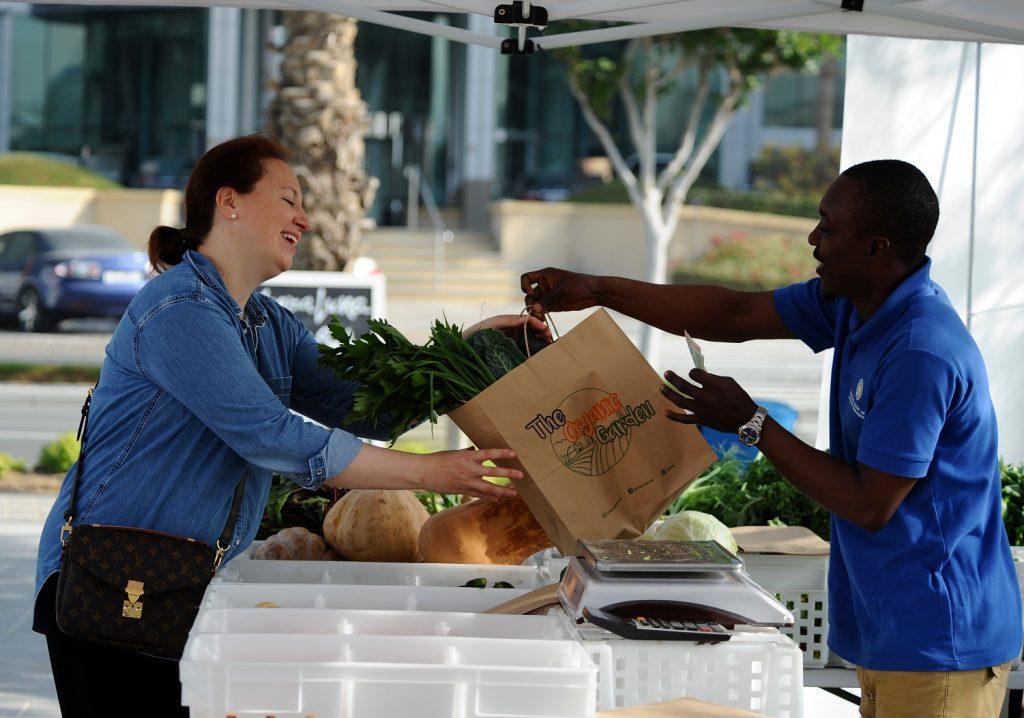 الموسم الثاني من سوق المزارعين في دبي فستيفال سيتي