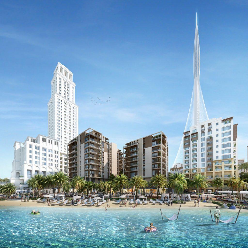 وحدات سانست السكنية في خور دبي