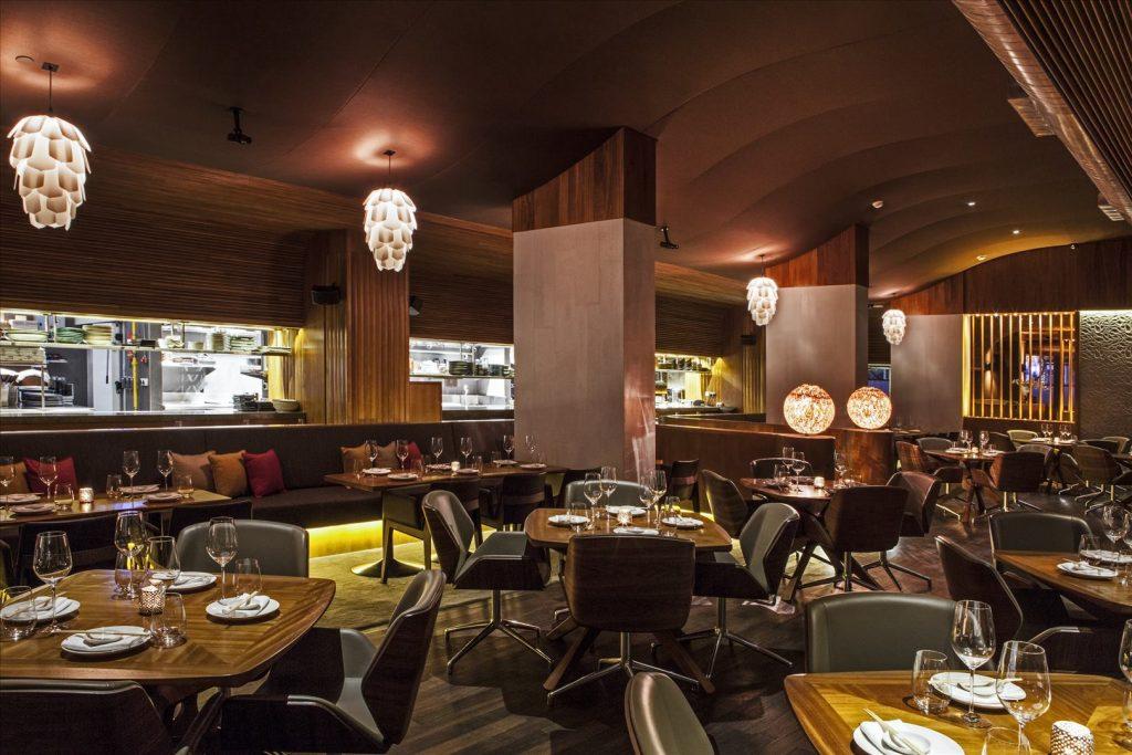 مطعم توكو في فندق فيدا وسط المدينة