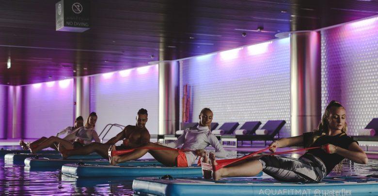 الجلسات الرياضية الترفيهية في نادي البرج
