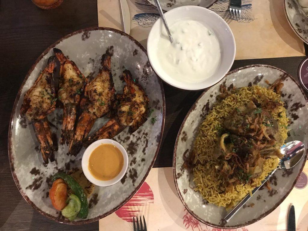 مطعم الماشوه الإماراتي