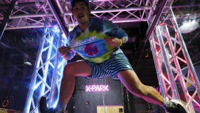 تحدي إكس بارك لمحترفي القفز من باونس أبوظبي