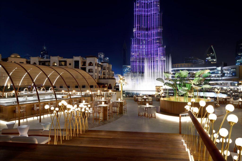 افتتاح زيتا في فندق العنوان وسط المدينة