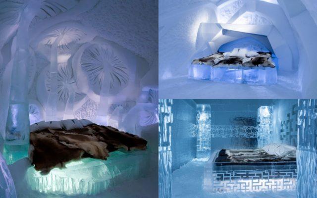 فندق الجليد في السويدIce hotel in Sweden