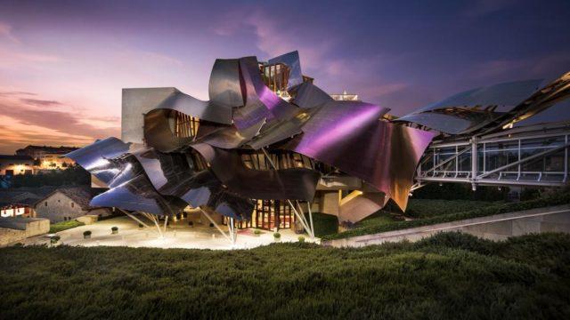 فندق فرانك جيري في اسبانياFrank Gehry hotel in Spain