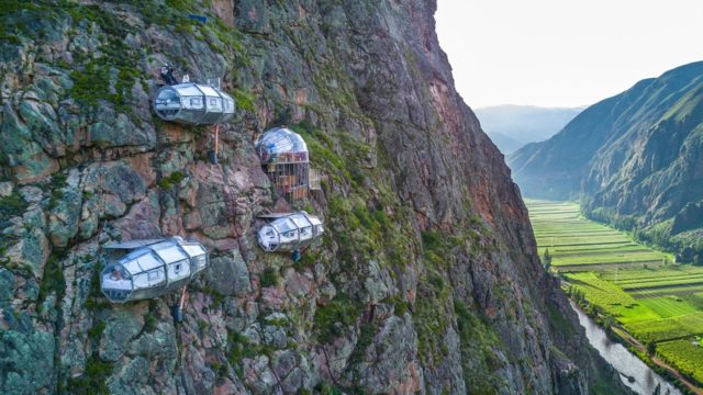 أجنحة Skylodge Adventure Suites في بيرو