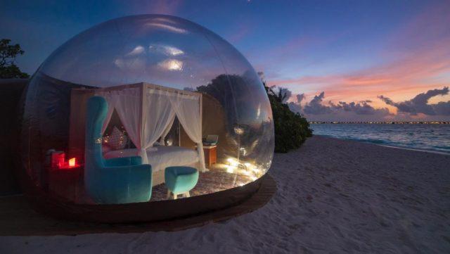 بيتش ببل في جزر المالديفBeach Bubble in Maldives