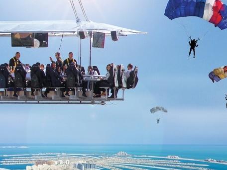 العشاء في السماء ، الإمارات العربية المتحدة