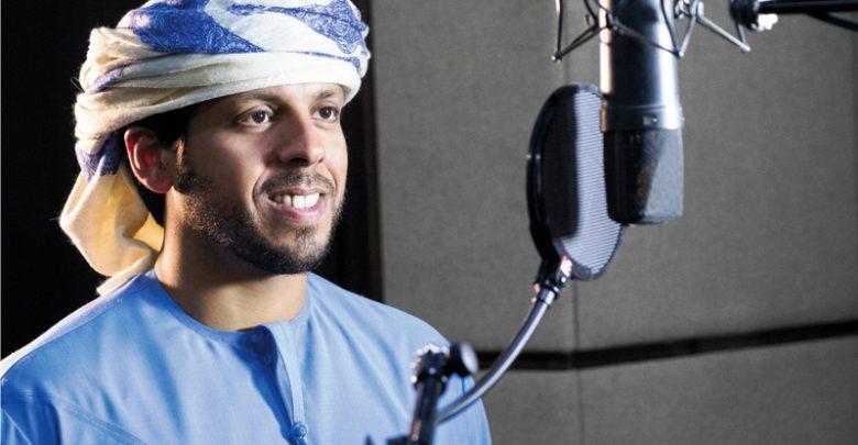 المغني حمد العامري في دبي