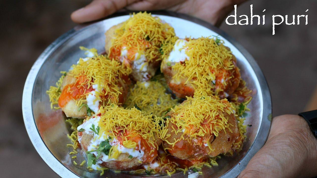 داهي بطاطا بوري Dahi Batata Puri