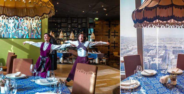 مطعم مودي للمأكولات الجورجية في دبي