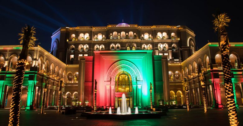 احتفالات قصر الإمارات باليوم الوطني الـ 47 لدولة الإمارات