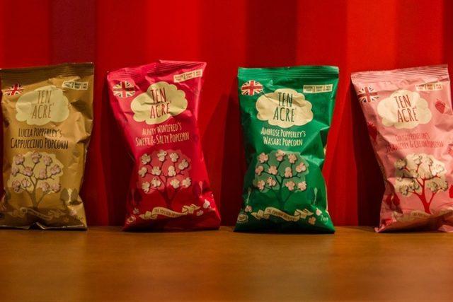 الفشار غير التقليدي في رييل سينماFunky popcorn at Reel Boutique