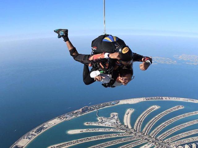 سكايدايف دبي ، الإمارات العربية المتحدة