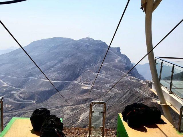رحلة جبل جايس ، الإمارات
